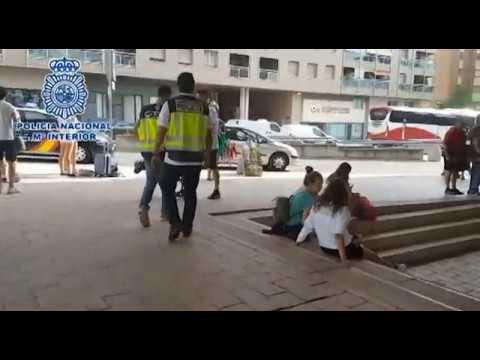 Detenidos dos carteristas cuando llegaban a Huesca por San Lorenzo
