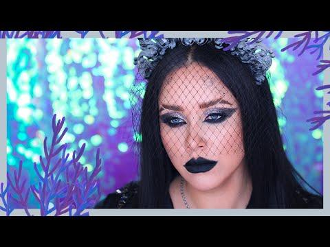 МРАЧНЫЙ МАКИЯЖ I Урок макияжа I НаталинаМУАРАФОН 5 photo
