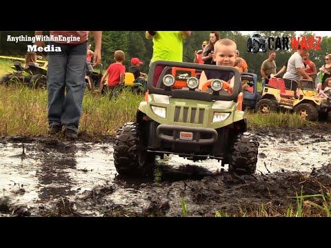 Kids Power Wheels Mud Bog Coming At YA At BFE Mud Bog Summer 2018 Part 02