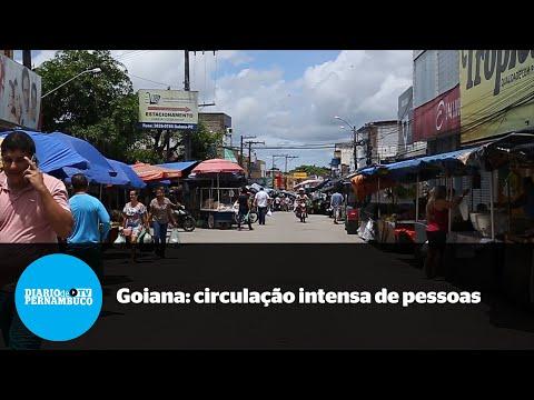 Isolamento social ignorado em Goiana