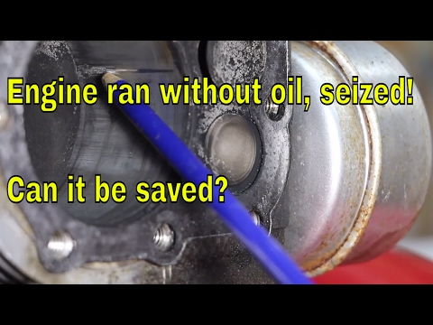 how to convert a vertical shaft engine to run horizontally