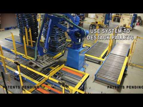 Robotic Pallet Sortation
