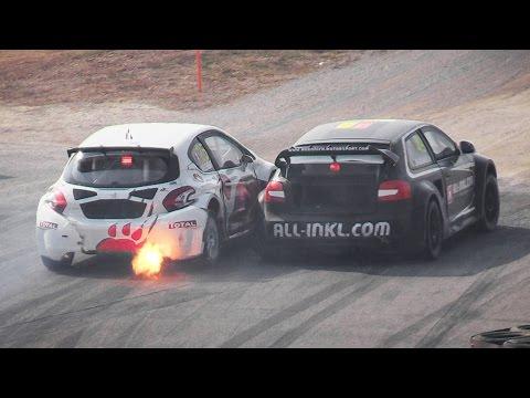 World Rallycross RX Franciacorta 2014 – Race Action, Crash, Jumps, Sounds  More!!