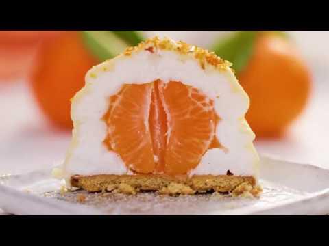 Fun Surprise Dessert Recipe | Clementine Bomb