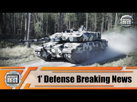 Rheinmetall from Germany unveils new Main Battle Tank MBT with 130mm cannon and new armor