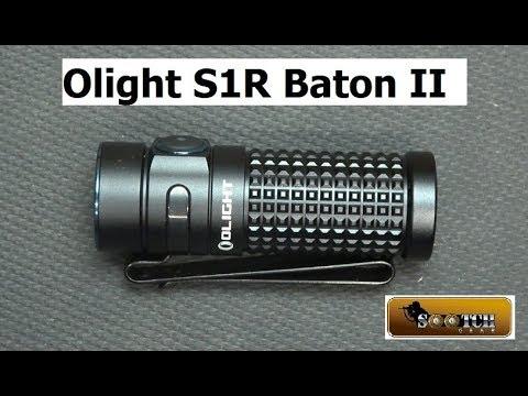New Olight S1R II Baton 1000 Lumens!