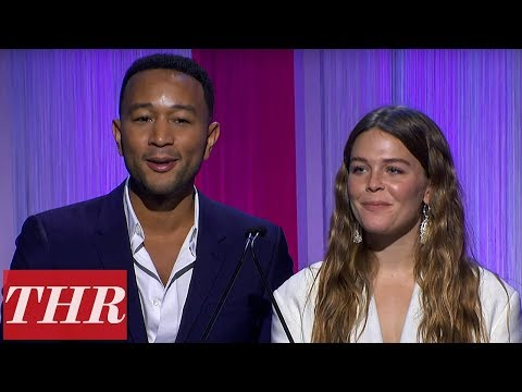 John Legend & Maggie Rogers Present The Spotify & Angel Scholarships | Women in Entertainment