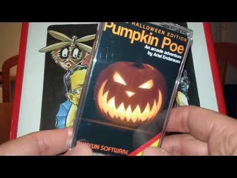 Unboxing copia física creada por Bumfun Software: Pumpkin Poe (Ariel Andaraues)