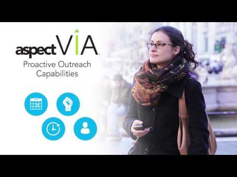 Aspect Via: Proactive Outreach