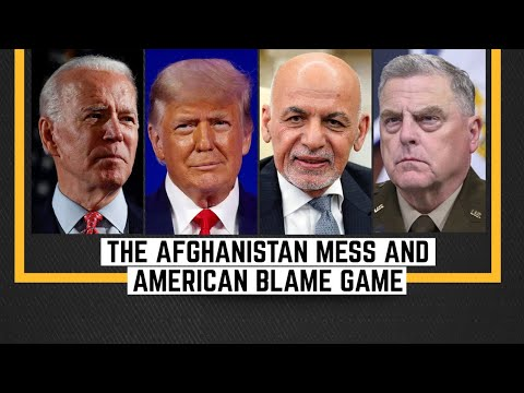 Who's responsible for Afghanistan mess? | US military testifies before senate panel | WION News