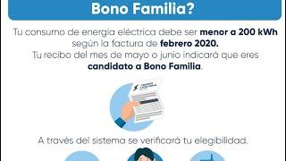 MIDES registra 175 mil beneficiarios del Bono Familia