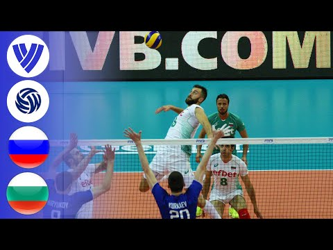 Russia vs. Bulgaria - Full Match | Group 1| Men's Volleyball World League 2017