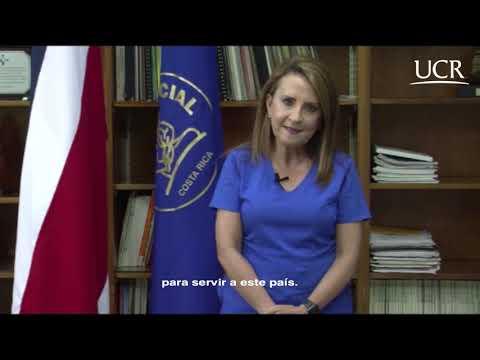 Felicitación por parte de la Dra.  Olga Arguedas Arguedas, directora del Hospital Nacional de Niños