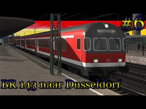 Met de BR 143 naar Dusseldorf - Train Simulator 2017 (Livestream #6)