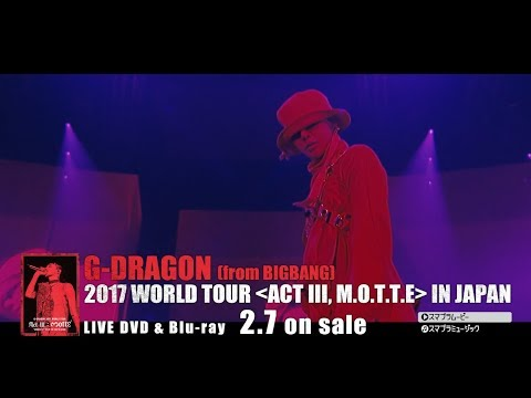connectYoutube - G-DRAGON - CRAYON (2017 WORLD TOUR [ACT Ⅲ, M.O.T.T.E] IN JAPAN)