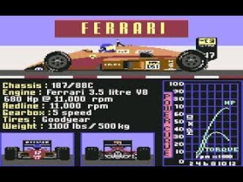 Commodore54 para Sinvers, HOY: JUEGOS DE MOTOR --- C64 REAL 50Hz