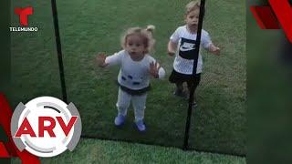 Enrique Iglesias muestra a sus mellizos   Al Rojo Vivo   Telemundo