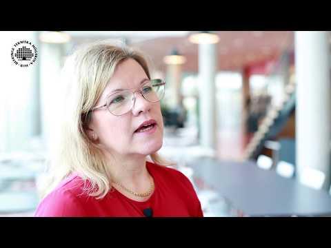 Sophie Hallstedt, forskare vid BTH, berättar om sin forskning  (engelska)