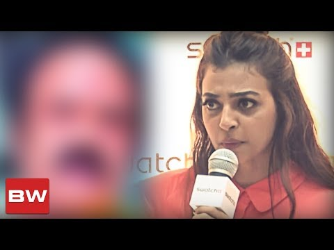 connectYoutube - HOT: Radhika Apte's Clarification on Hero Misbehaving