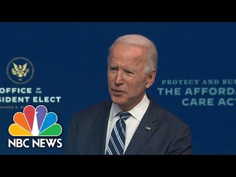 Biden Claims Presidential Transition 'Well Underway' Despite What Trump Says | NBC News