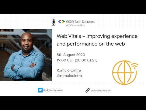 video thumbnail for GDG BARCELONA – WEB VITALS – IMPROVING EXPERIENCE AND PERFORMANCE ON THE WEB W/ ROMULO CINTRA