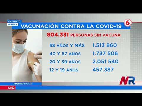 CCSS: Más de 800 mil personas están sin vacunas