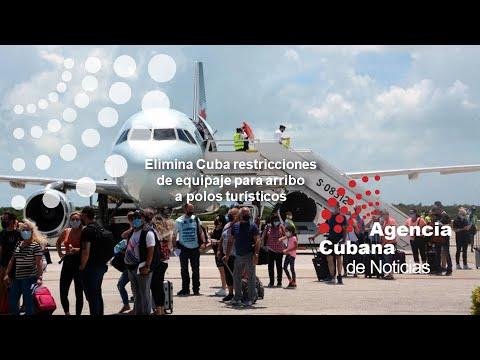 Cuba: Eliminan restricción de equipaje en polos turísticos