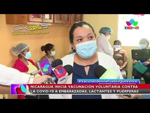 Inicia Vacunación Voluntaria contra la Covid-19 a embarazadas, puérperas y lactantes