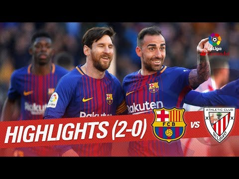 Resumen de FC Barcelona vs Athletic Club (2-0)