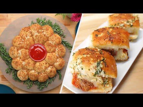 6 Great Garlic Bread Recipes For Sharing ? Tasty Recipes