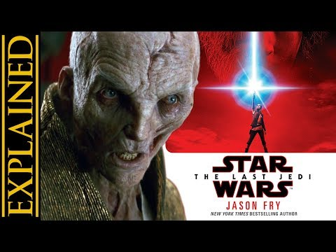 Extra Details on Snoke Rise in The Last Jedi Novelization