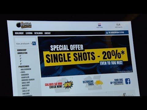 Grootste online aanbieders illegaal vuurwerk op zwart na internationale politieactie