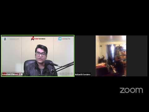 🔴EN DIRECTO | Clase con Rafael Cordero desde USA | Las emociones  | Karaoke | Chino mandarín