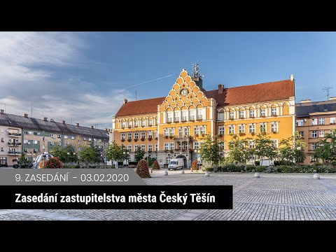 Zasedání zastupitelstva Český Těšín 3. 2. 2020