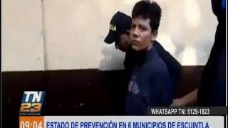 Decretan estado de prevención en seis municipios de Escuintla