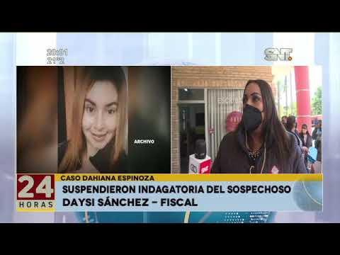 Caso Dahiana Espinoza: Suspendieron indagatoria del sospechoso