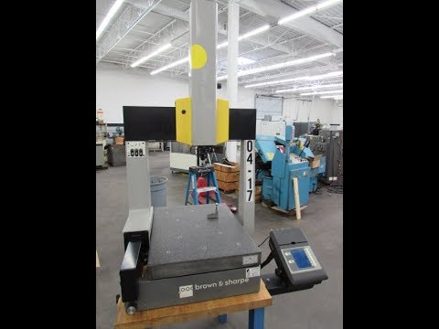 Brown & Sharpe Gage 2000 Coordinate Measuring Machine For Sale At Machinesused.com