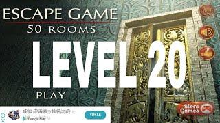 Escape Game 50 rooms 1  Level 20 Walkthrough