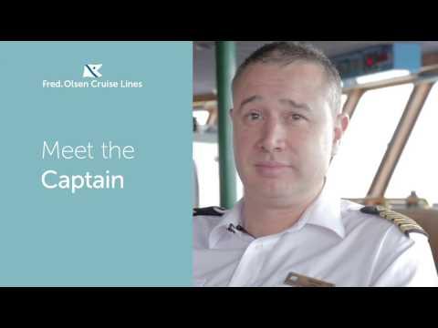 Meet Captain Jozo Glavic - Fred. Olsen