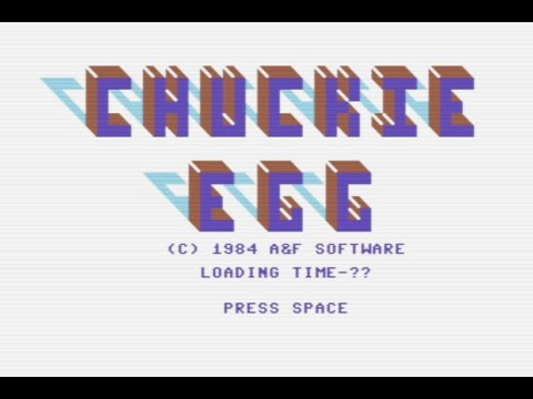 CHUCKIE EGG (Commodore 64) - Review de RETROJuegos por Fabio Didone