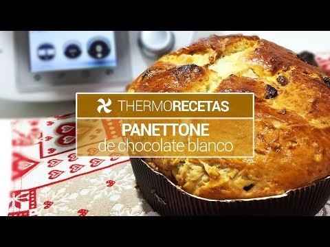 Panettone de Chocolate Blanco | Recetas de Navidad