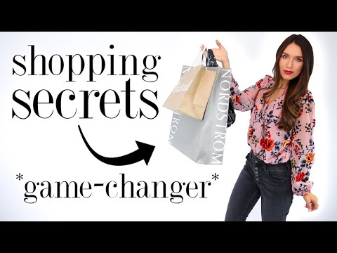 Video: 8 Sneaky SHOPPING SECRETS Every Girl Should Know! *life-changing*