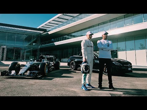 Lewis & Valtteri Check Out New PETRONAS R&T Centre!