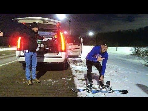 Best Idea Ever!! Highway Boarding