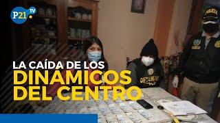 Caen Los Dinámicos del Centro y miembros de Perú Libre están implicados
