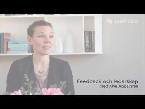 Feedback och ledarskap med Alva Appelgren