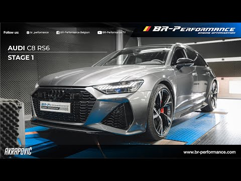 2020 Audi C8 RS6 / Akrapovic Exhaust / Stage 1 By BR-Performance