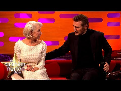 Helen Mirren Reunited with Ex-Boyfriend Liam Neeson | The Graham Norton Show