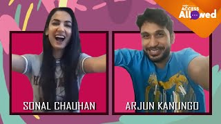 Sonal Chauhan and Arjun Kanungo | Episode 6 | Access Allowed | Full Interview - ZOOMDEKHO