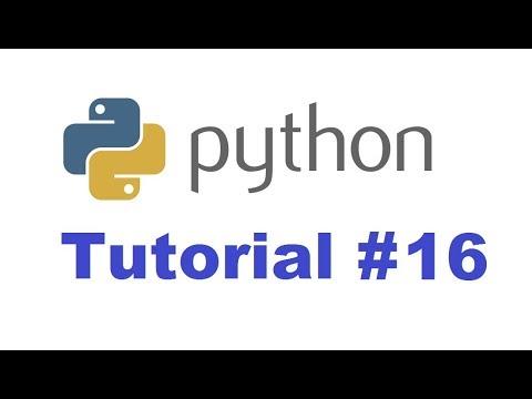 Python Tutorial for Beginners 16 - Python Dictionary